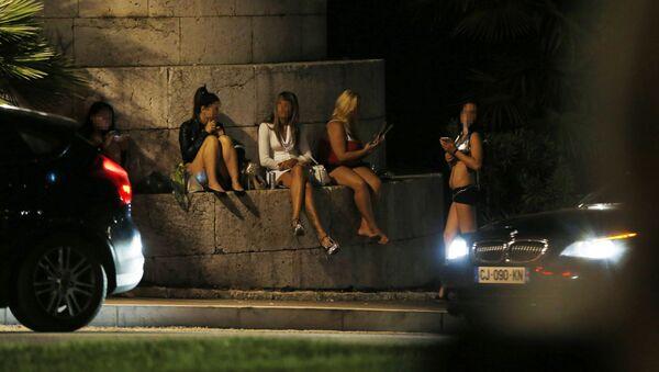 Prostytutki w Nicei, wrzesień 2015 - Sputnik Polska