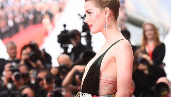 Amerykańska aktorka Amber Heard - Sputnik Polska