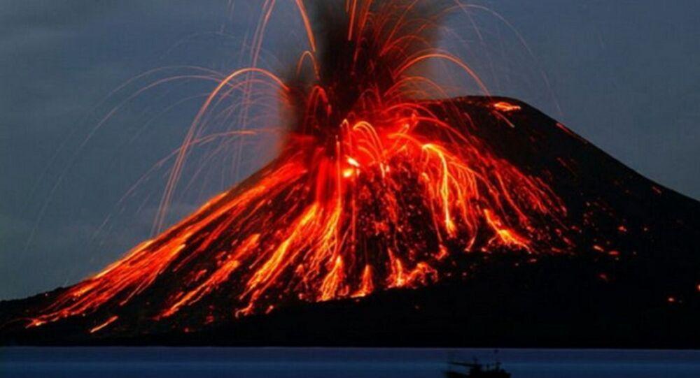 Erupcja wulkanu