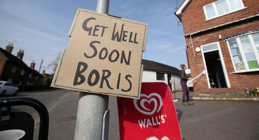 Życzenia powrotu do zdrowia dla Borisa Johnsona