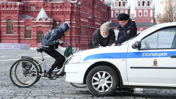 Kwarantanna w Moskwie - Sputnik Polska
