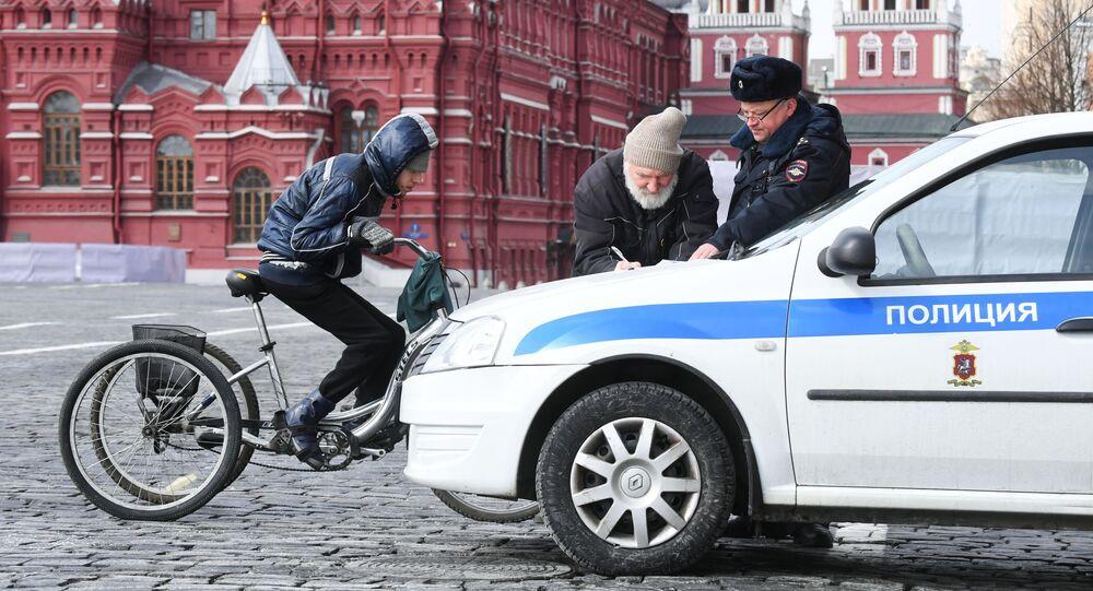 Kwarantanna w Moskwie