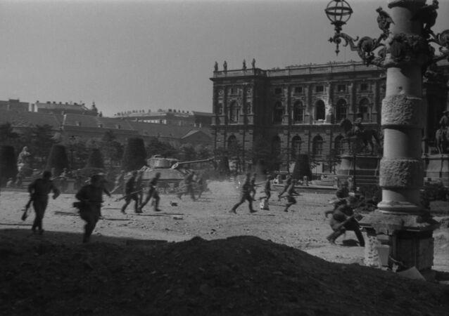 Walki o wyzwolenie Wiednia. Kwiecień 1945 rok