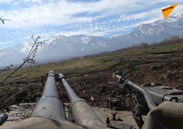 Manewry Dywizji Strzelców Zmotoryzowanych w górach Kaukazu