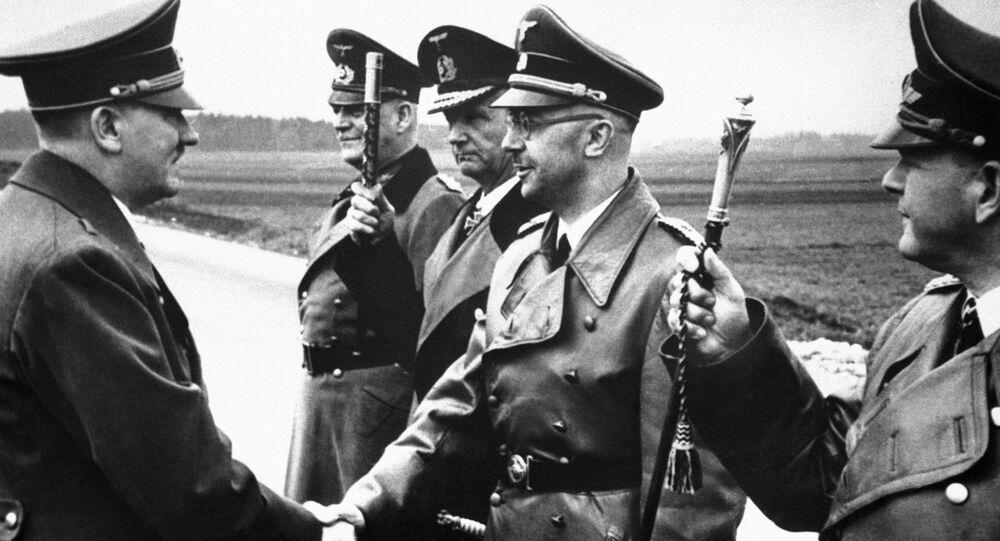 Adolf Hitler i Heinrich Himmler, 1944 rok