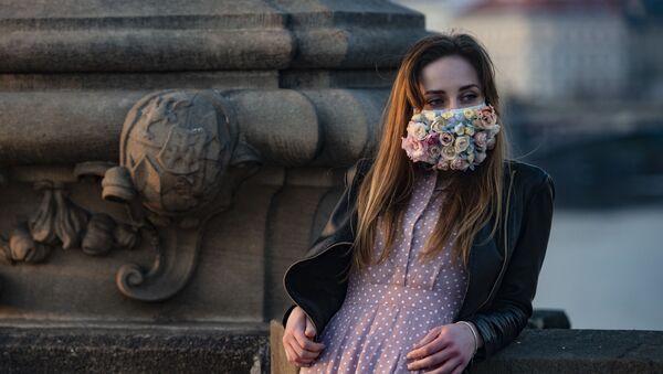 Epidemia koronawirusa. Praga, Czechy - Sputnik Polska