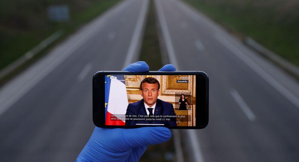 Przemówienie Emmanuela Macrona