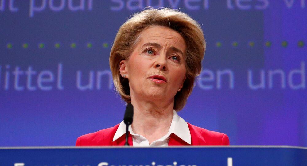 Przewodnicząca Komisji Europejskiej Ursula Gertrud von der Leyen.