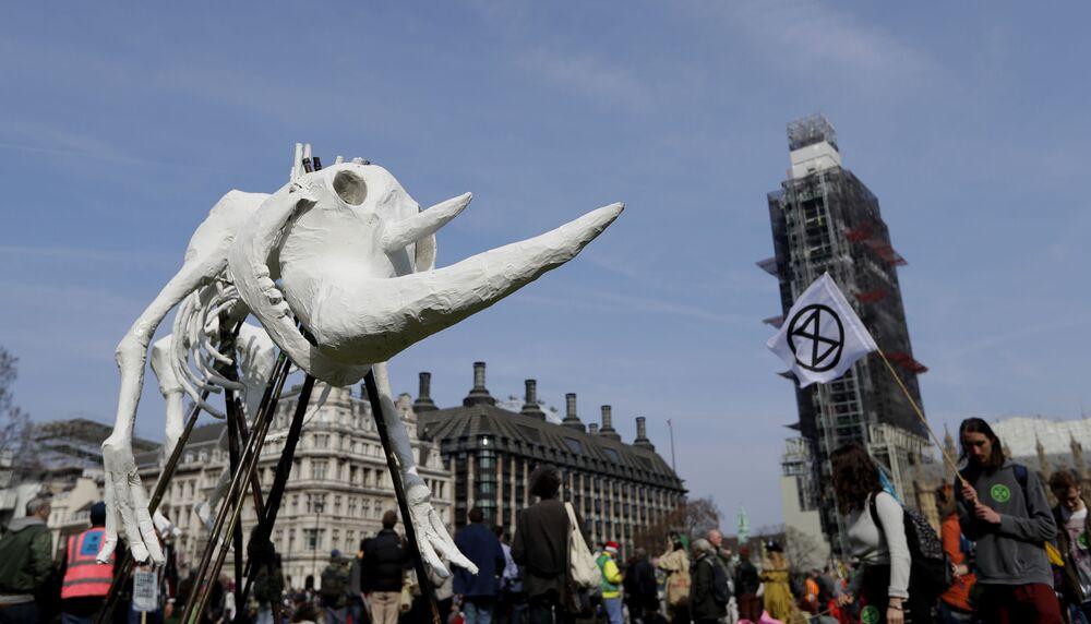 Protest klimatyczny w Londynie, Wielka Brytania