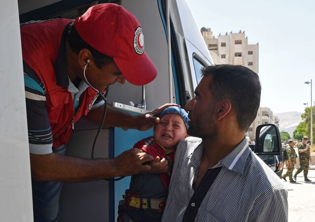 Pomoc medyczna w Syrii