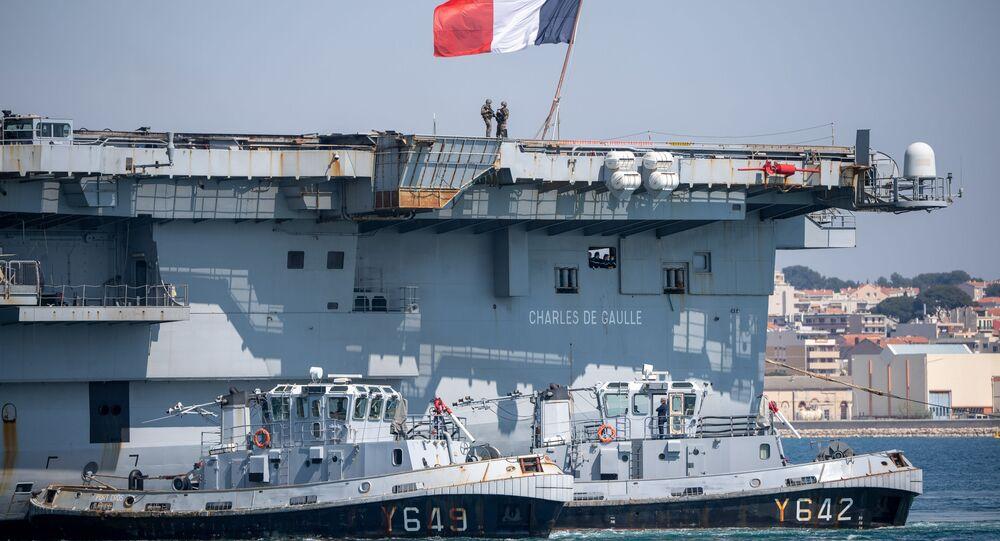 Lotniskowiec Charles de Gaulle