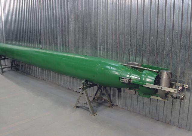 """Uniwersalna głębinowa torpeda samonaprowadzająca """"Fizyk"""""""