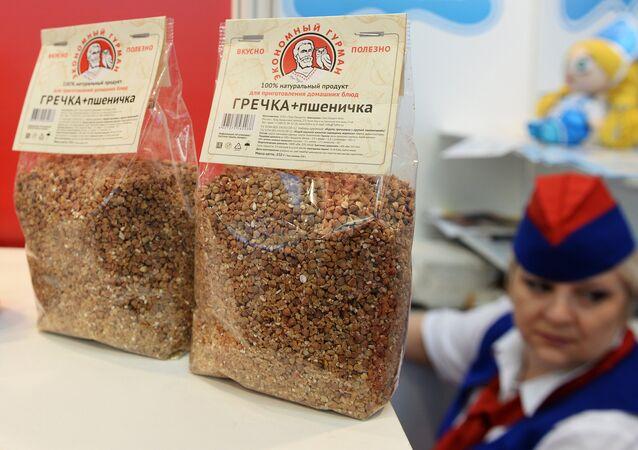 Kasza gryczana na targach Prodexpo-2015 international food exhibition