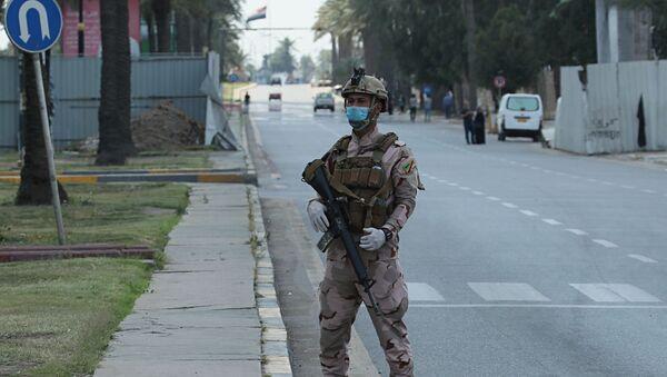 Żołnierz w Iraku - Sputnik Polska