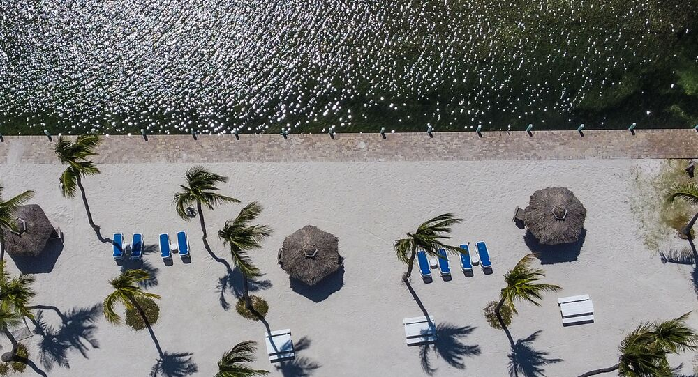 Pusta plaża na Florydzie