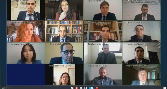 Wideokonferencja prasowa spraw zagranicznych Rosji Siergieja Ławrowa, 21 kwietnia 2020 roku