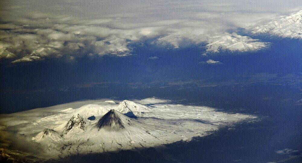 Wulkany na Kamczatce