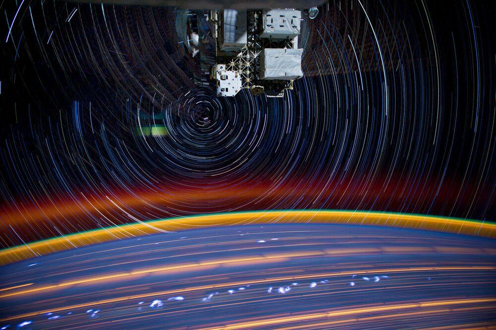 Zdjęcie Ziemi wykonane z MSK