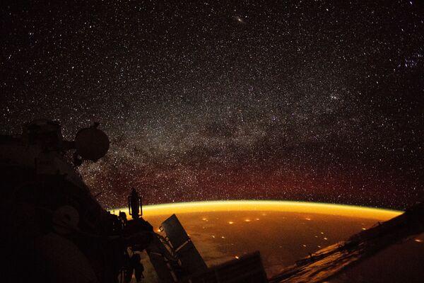 Zdjęcie Ziemi wykonane z MSK  - Sputnik Polska