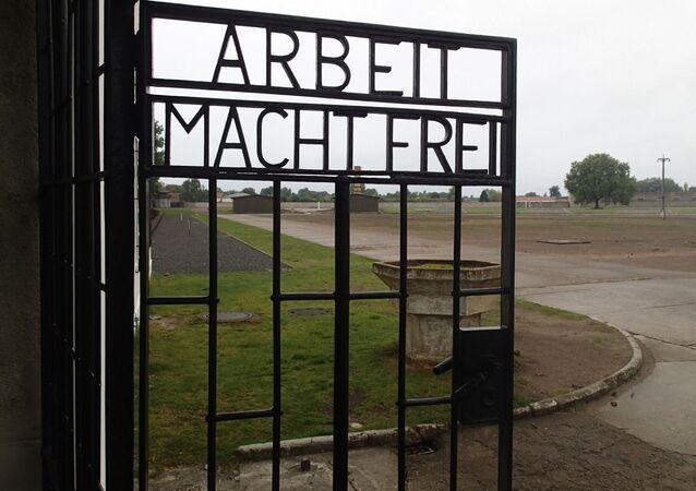 Obóz zagłady Saschenhausen w Oranienburgu