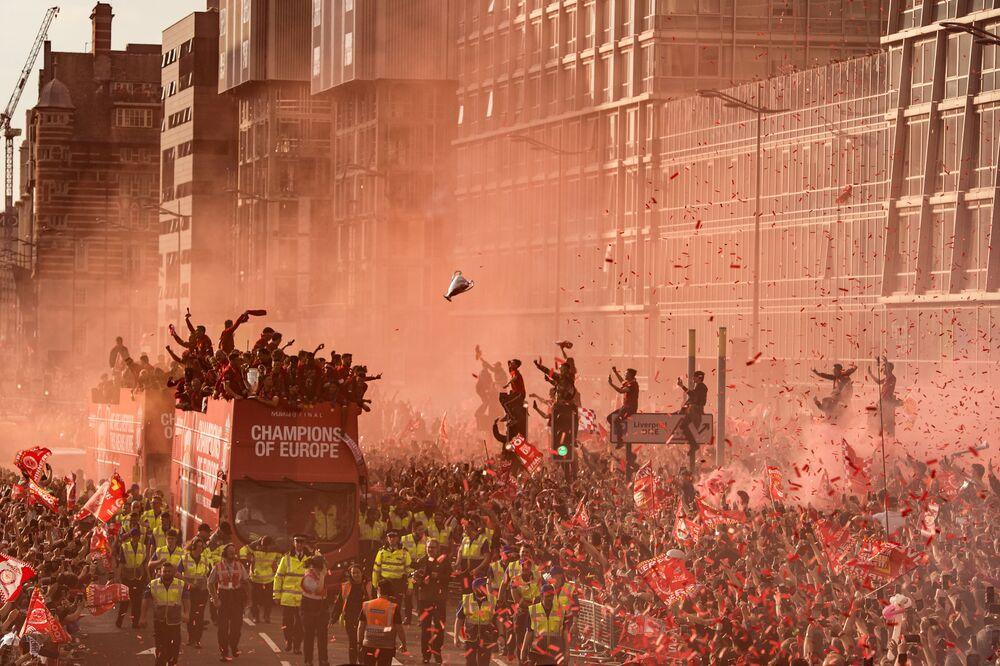 "Zdjęcie Liverpool Champions League Victory Parade, fot. Oli Scarff, 3. mejsce w kat. ""Sport"""