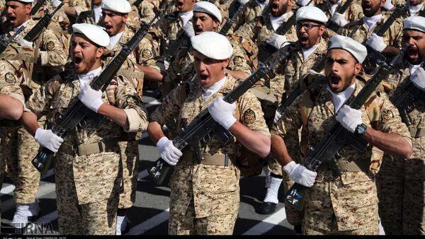 Parada wojskowa w Iranie - Sputnik Polska