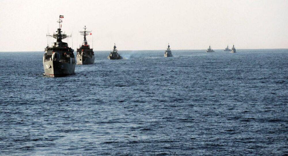 Manewry irańskiej marynarki wojennej Velayat-90.