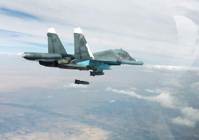 Rosyjskie lotnictwo przeprowadza ataki w Syrii przeciwko ISIS