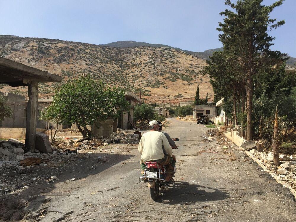 Miejscowość Saf-Safa (prowincja Hama), z której armia syryjska wyparła bojowników z grupy Dżabhat an-Nusra