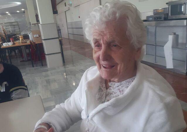 106-letnia Hiszpanka Ana del Valle, która przeżyła hiszpankę i koronawirusa