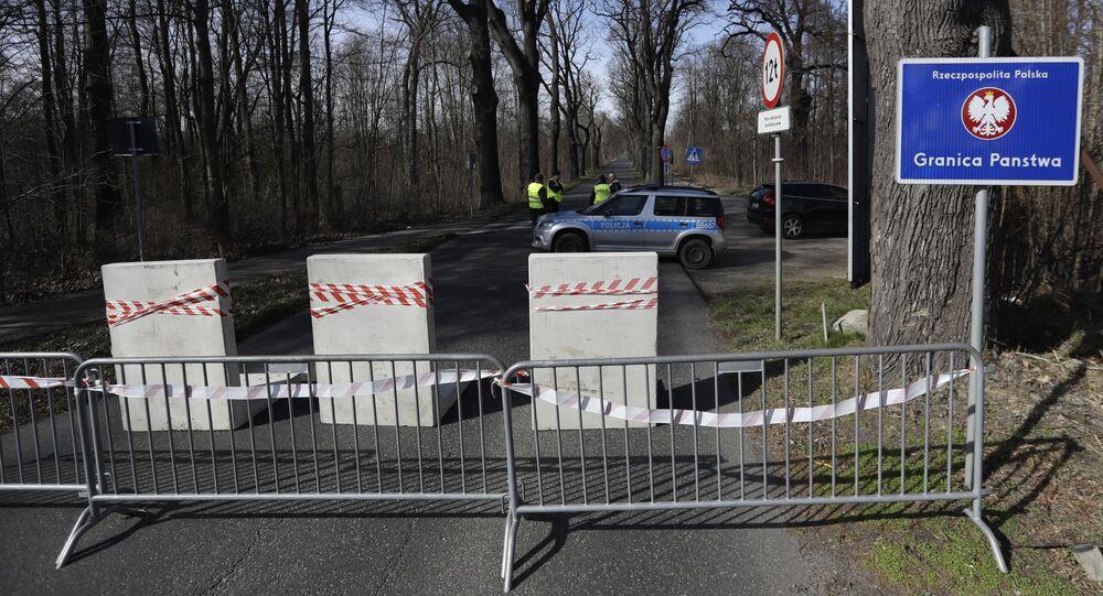 Zamknięta granica Polski