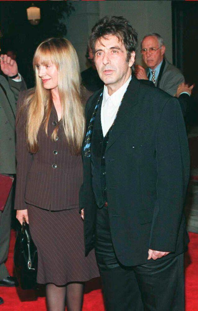 Aktor Al Pacino z przyjaciółką Lindl Hobbs