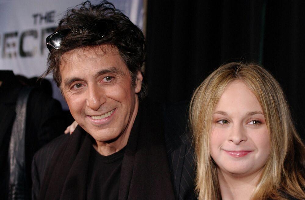Aktor Al Pacino z córką Julią