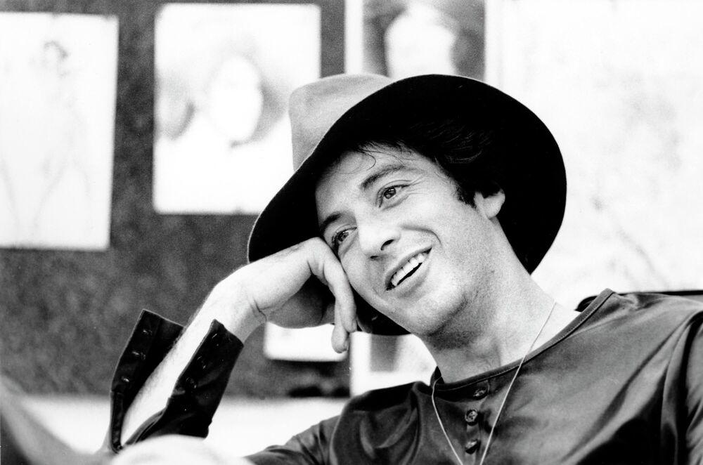 Aktor Al Pacino podczas wywiadu, 1973