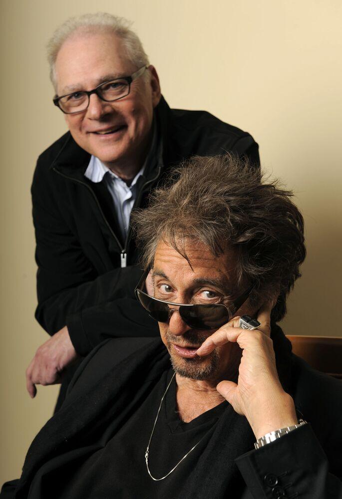 Reżyser Barry Levinson i aktor Al Pacino