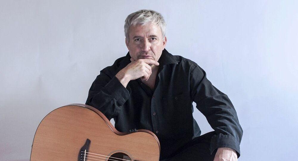 Eugeniusz Malinowski, syberyjski bard, polski aktor, twórca Międzynarodowego Festiwalu Pieśni i Poezji Włodzimierza Wysockiego