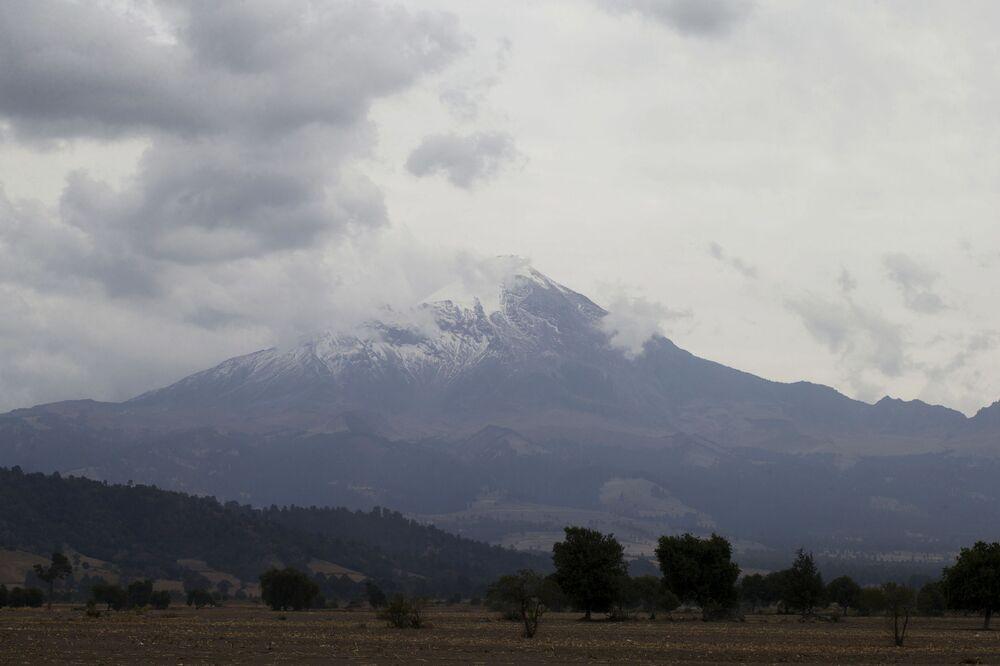 Wulkan Orizaba w Meksyku