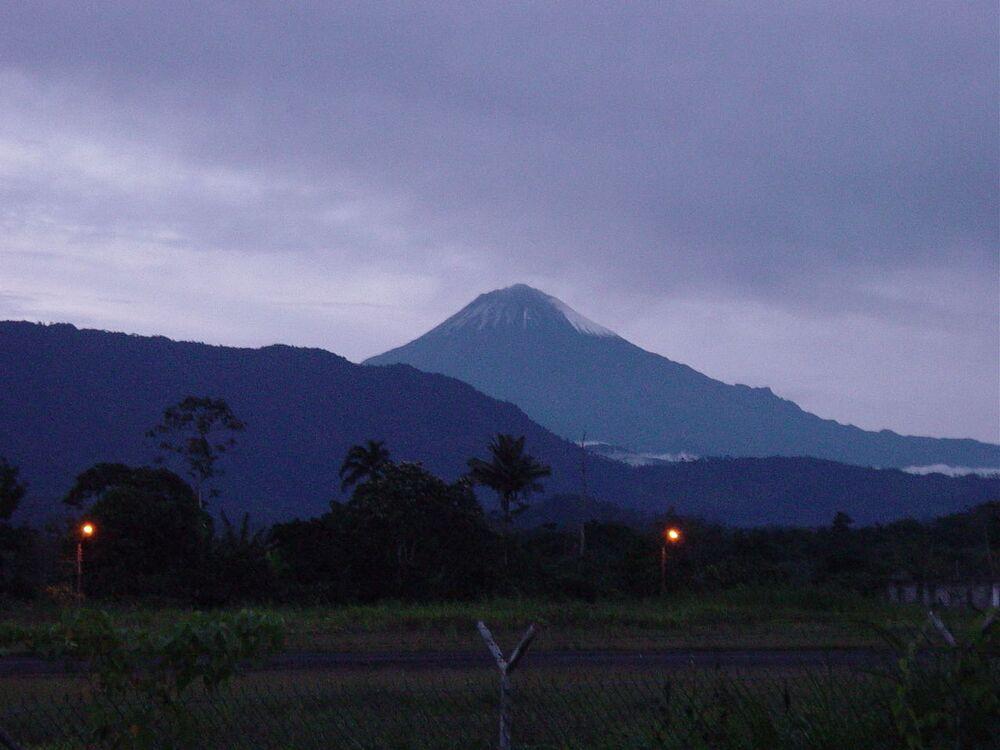 Wulkan Ekwadorski Sangai