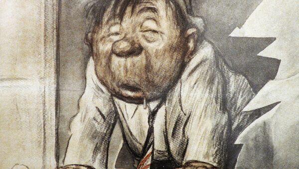 Plakat malarza Konstantina Chudiakowa. - Sputnik Polska
