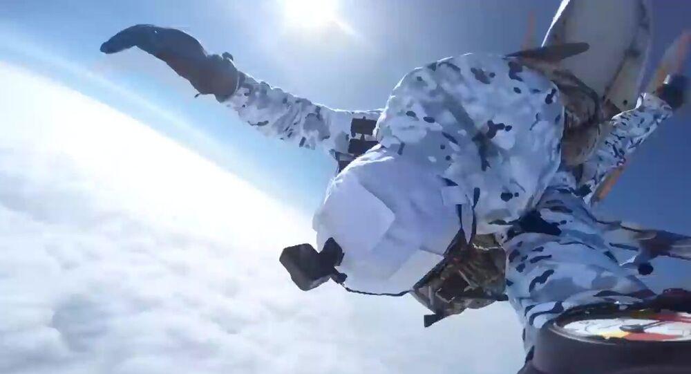 Rosyjcy spadochroniarze