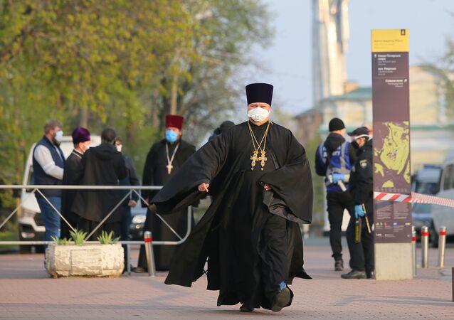 Ławra Kijowsko-Pieczerska zamknięta z powodu kwarantanny