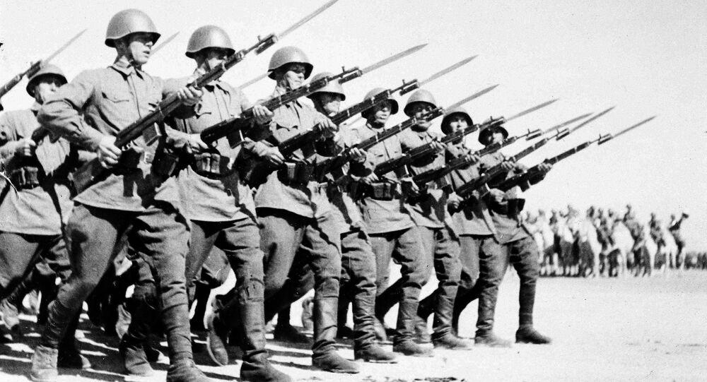 Radzieccy żołnierzy w Iranie