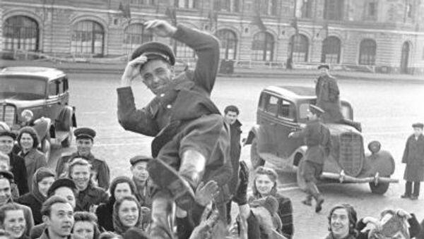9 maja 1945 roku w Moskwie - Sputnik Polska