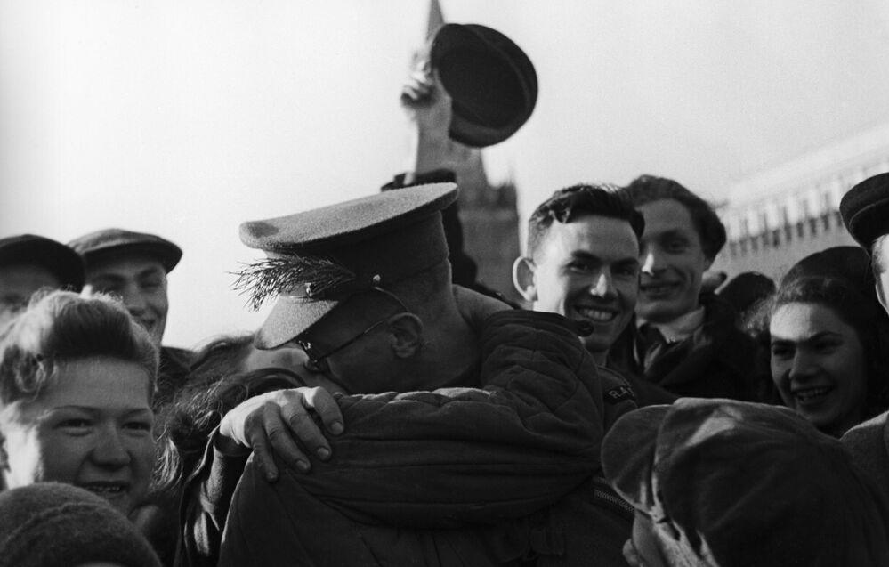 9 maja 1945 roku w Moskwie