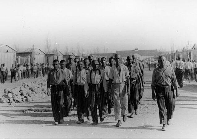 Więźniowie obozu koncentracyjnego Dachau, 1938 rok