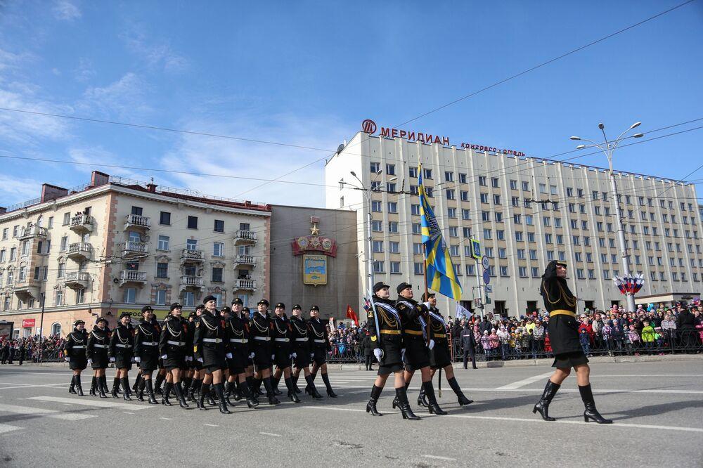 Parada w Murmańsku, 2017 rok