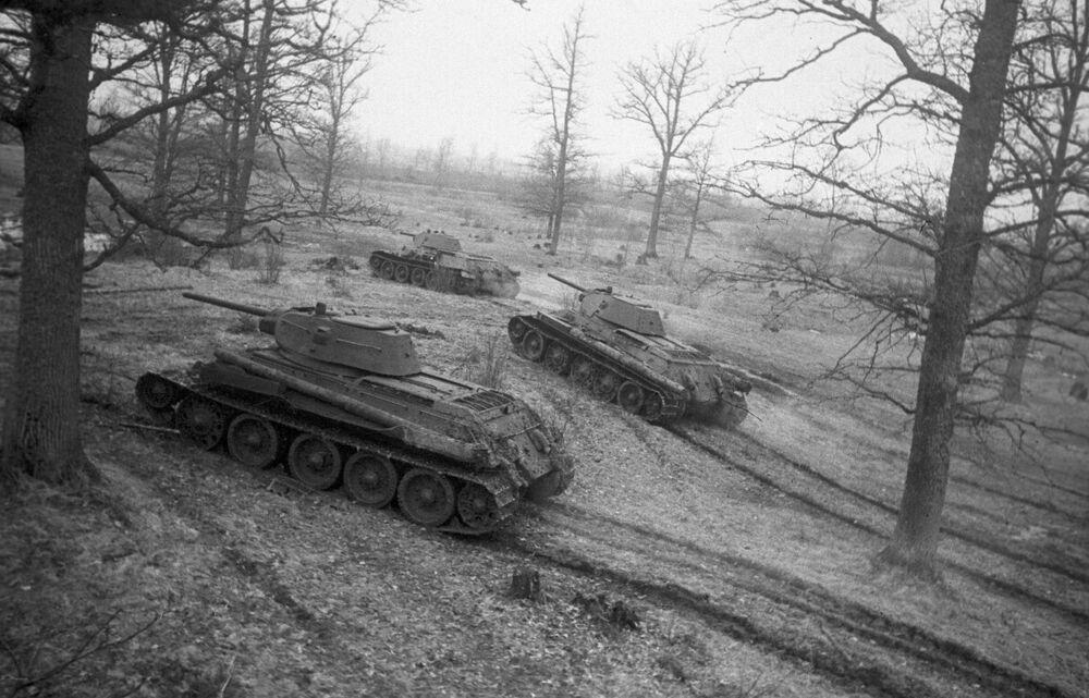Radzieckie czołgi T-34