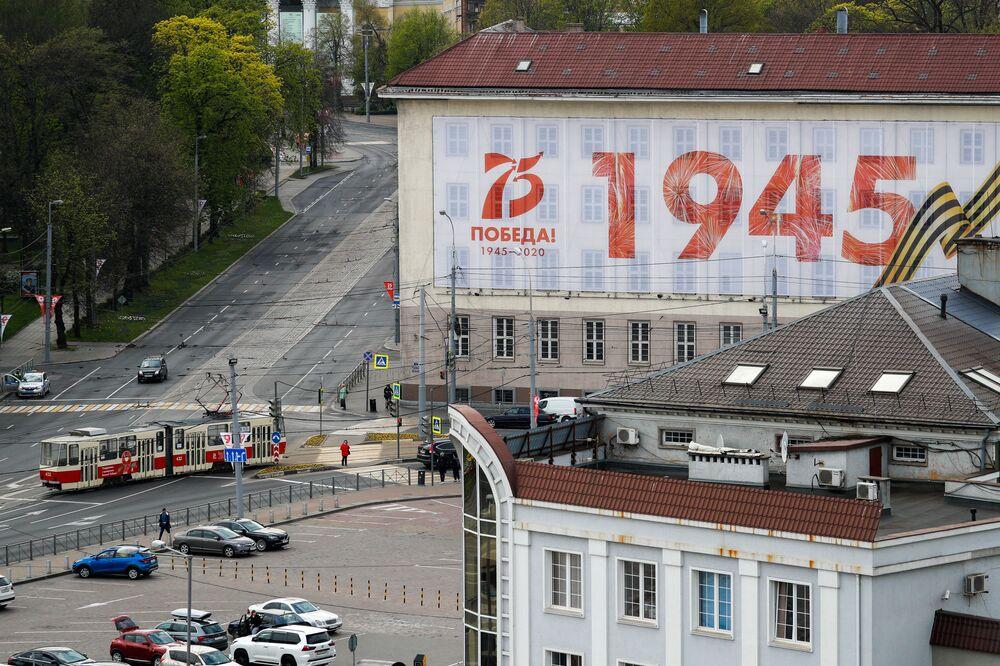 Plakat w Kaliningradzie