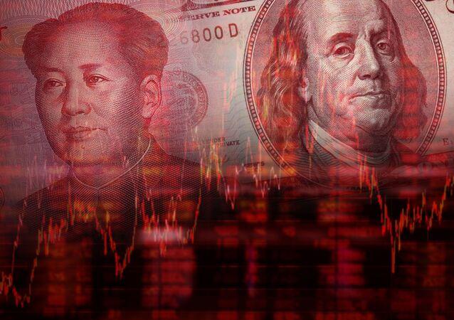 Chiński juan i amerykański dolar