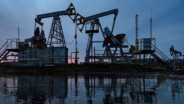 Wydobycie ropy w Republice Tatarstanu - Sputnik Polska